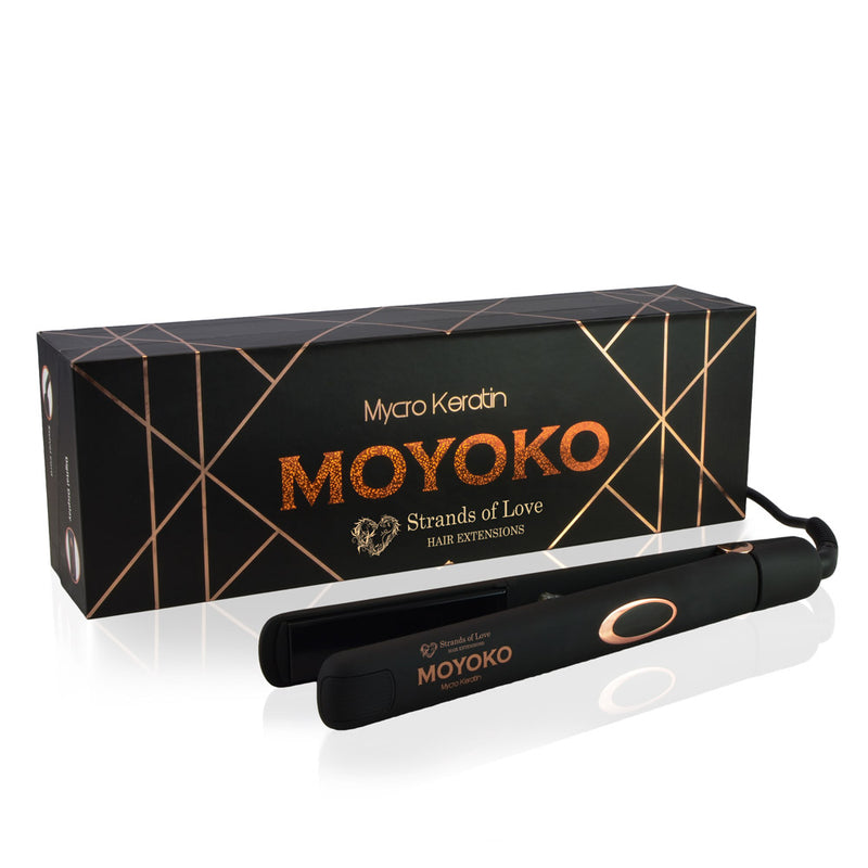 MK Moyoko Infrared Styler Classic Flat Iron With Box Display
