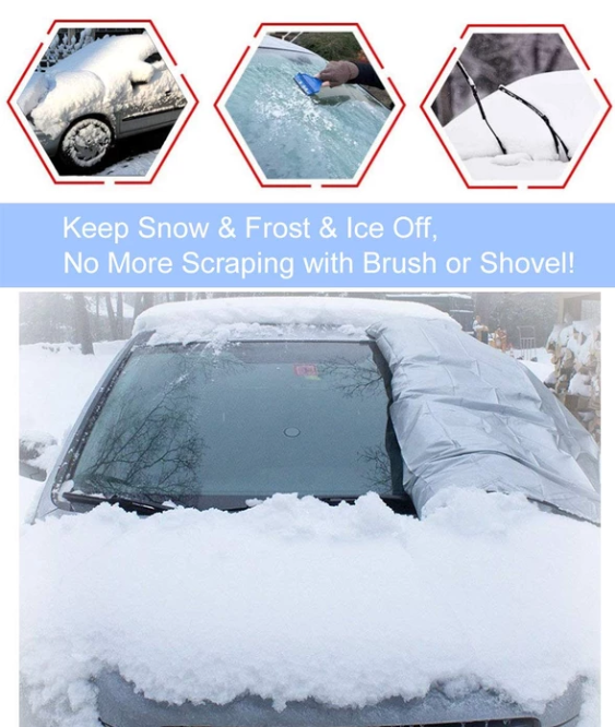 Only 45 % OFF TODAY-Full Protection Windshield Cover