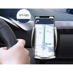 Car Infrared Automatic Induction Car Charging Holder Fast Wireless Phone Holder Air Vent Charging Bracket