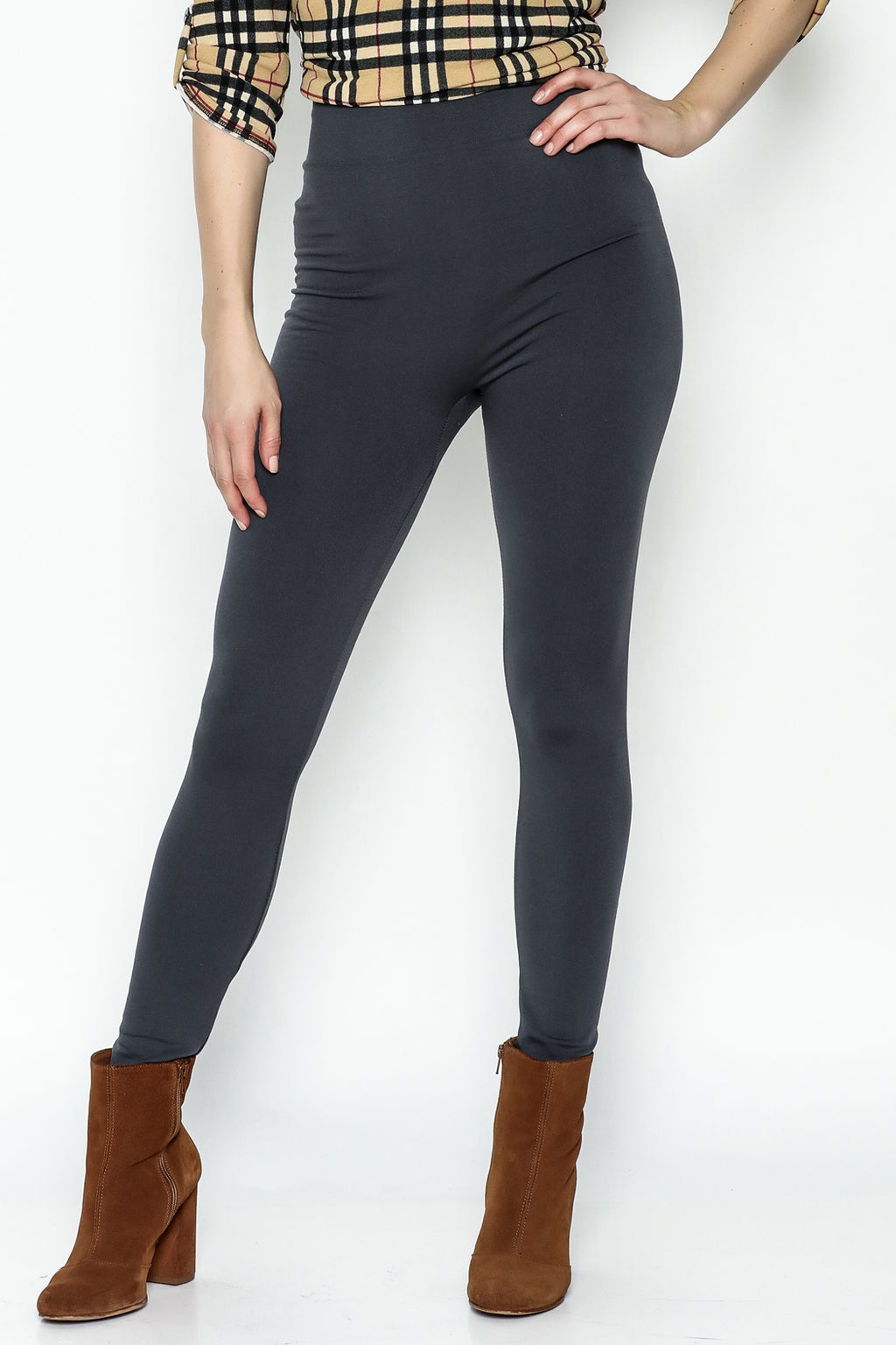(Buy 2 Free Shipping)Fleece-Lined Leggings-Plus velvet thickening
