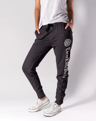 3LB Black Heather Joggers