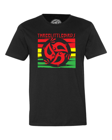 Three Little Birds Rasta Shirt