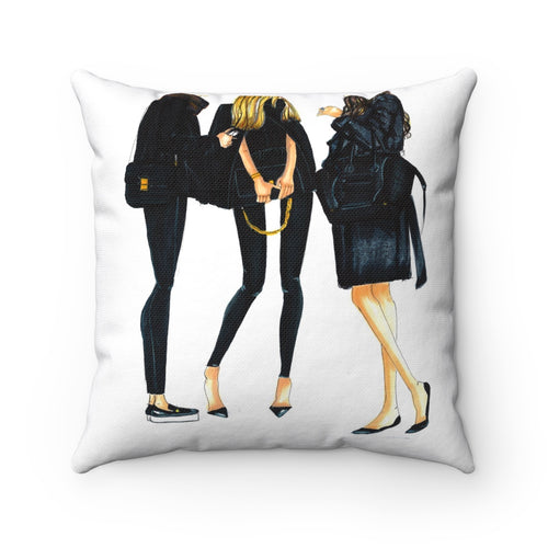 Ladies in Black - Pillow