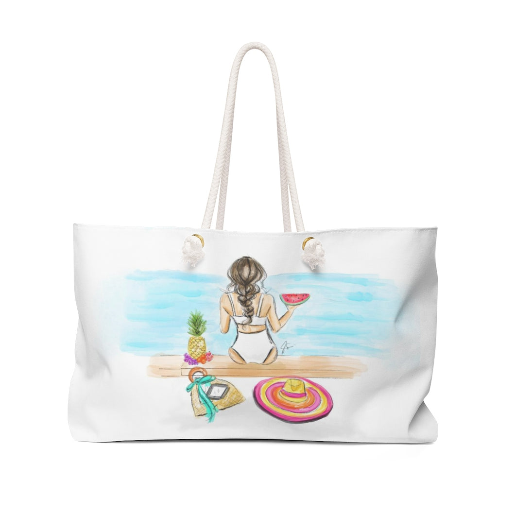 Summer Vibes Beach Tote