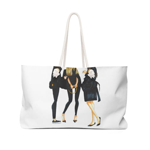 Ladies in Black Weekender Bag