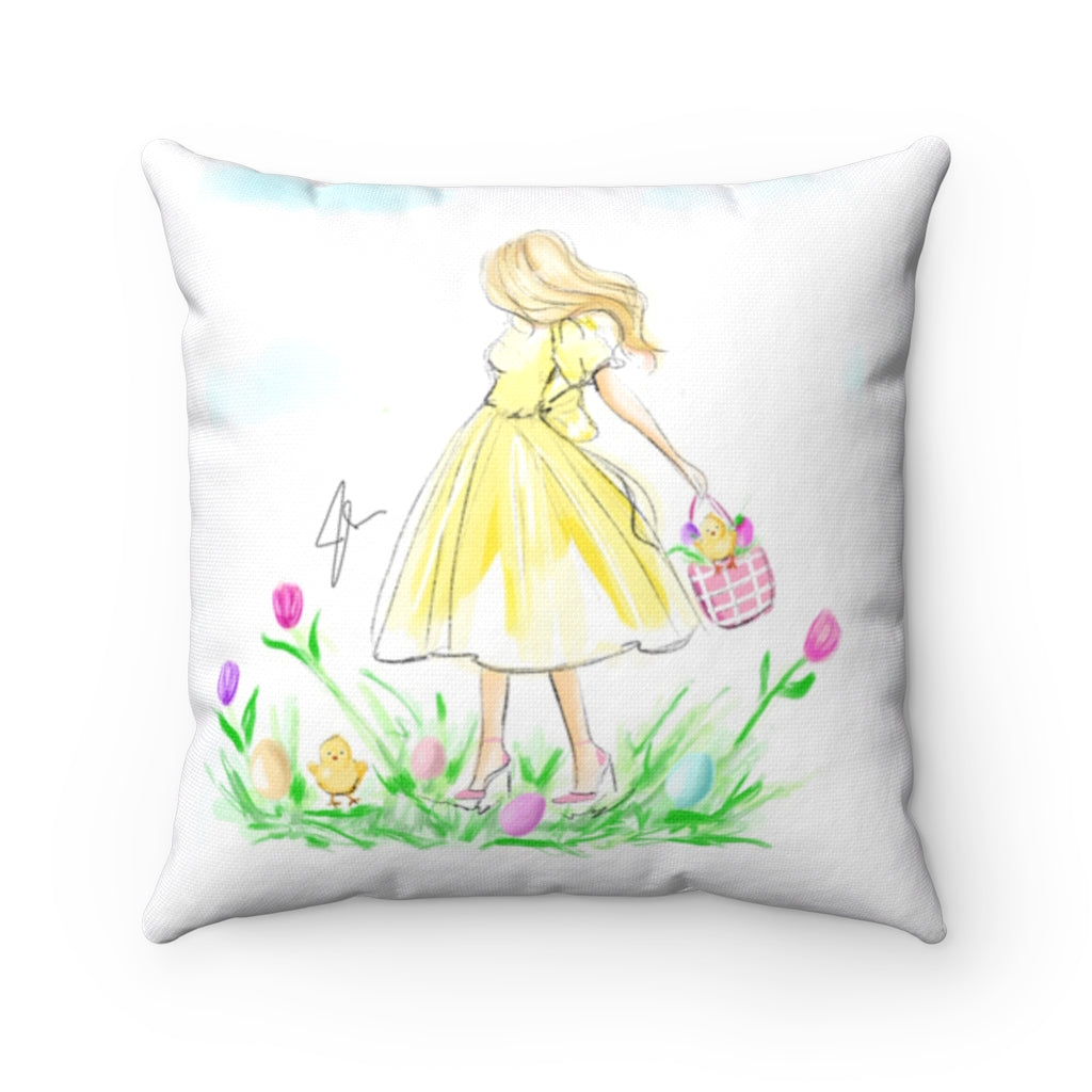 Chic Chicks Pillow