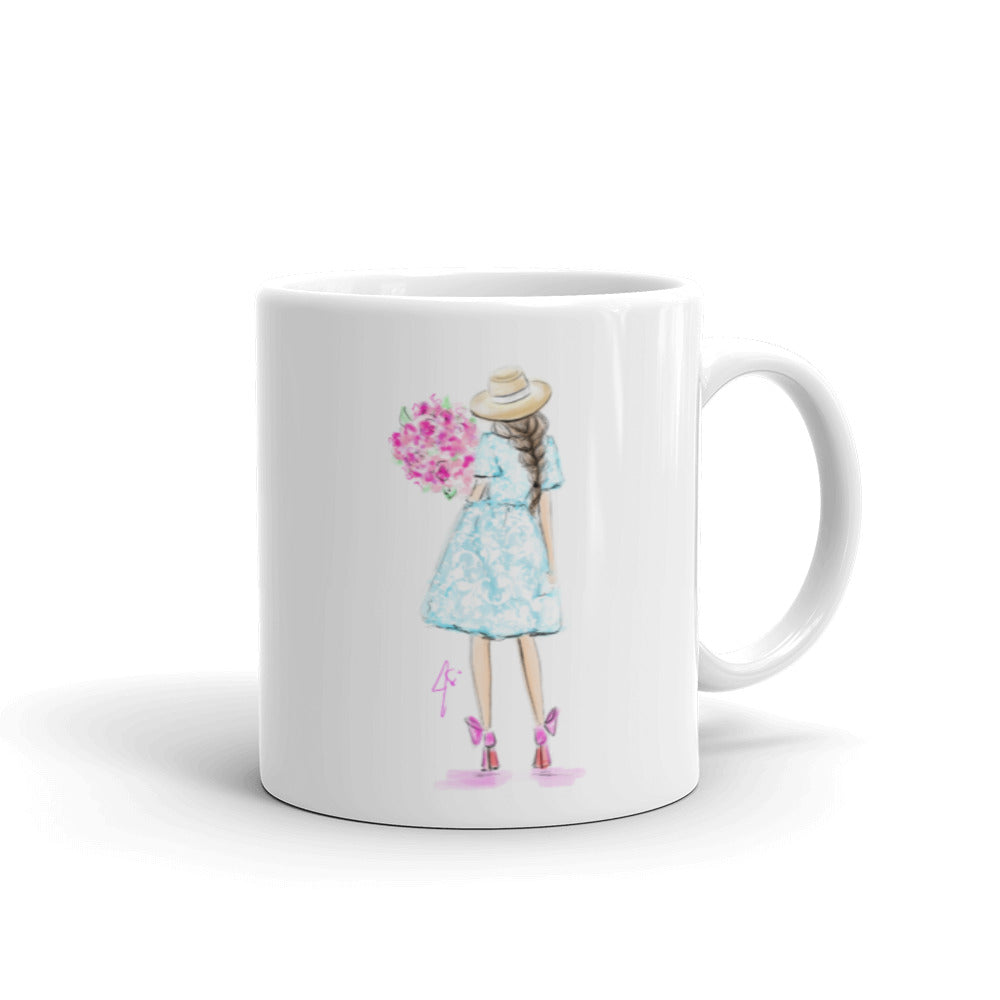 Bloom (Brunette) Mug