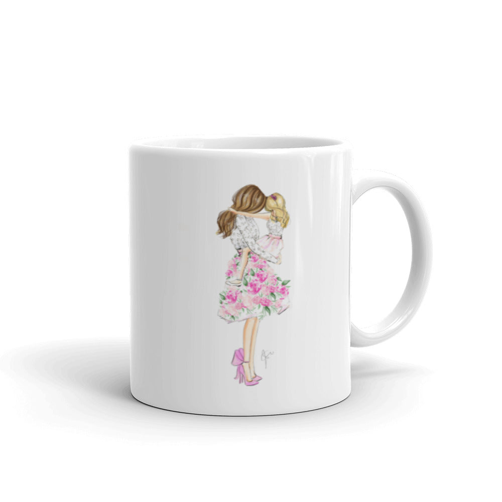 Floral Ever (Brunette/Blonde) Mug