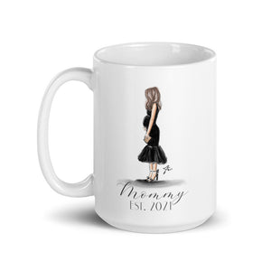 Mommy - To - Be Mug (Brunette)
