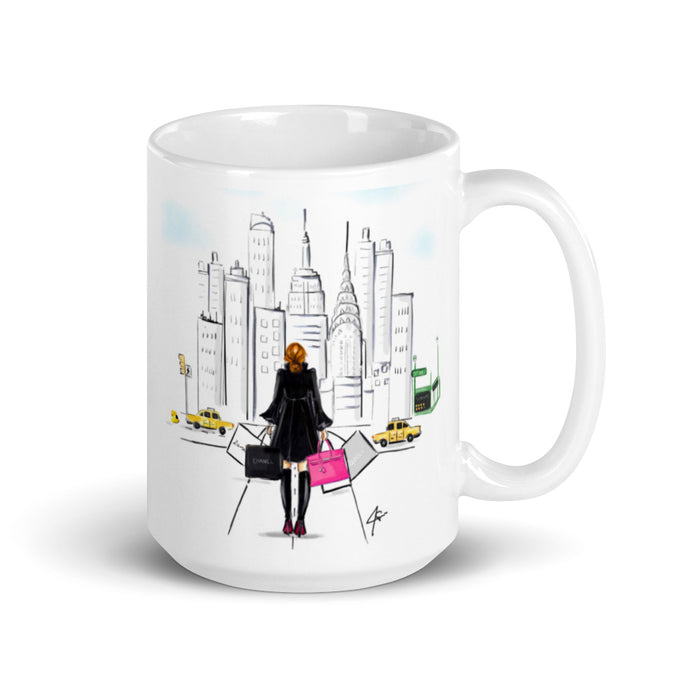 Fifth Ave (Red) Mug