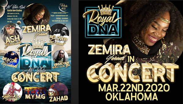 Headlining at the Royal DNA Concert