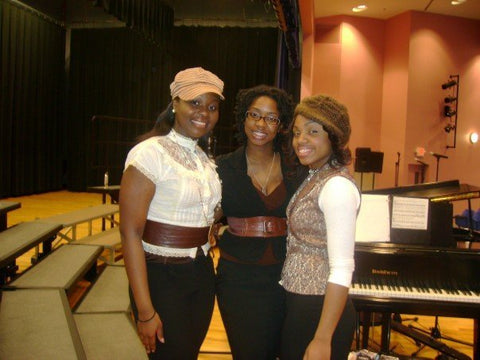 Zemira Israel after performing with old singing trio group Bliss
