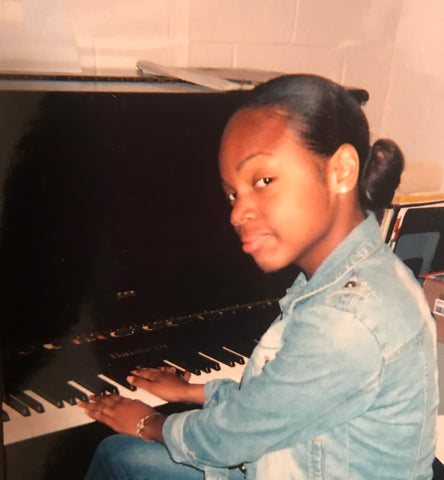 Zemira Israel playing piano