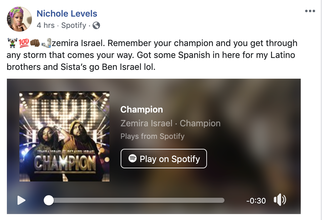 Reviews on Zemira Israel's #CHAMPION 2020 single