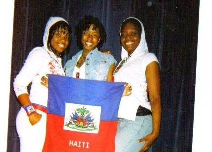 Haitian sisters from Zemira Israel's old singing group Bliss