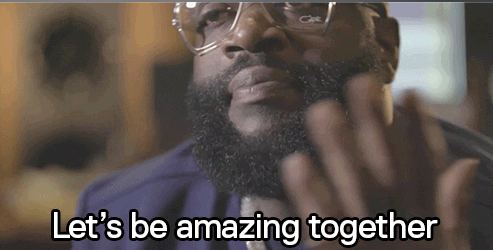 let's be amazing together rick ross.