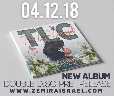 Zemira Israel's True Love Changes double disc album