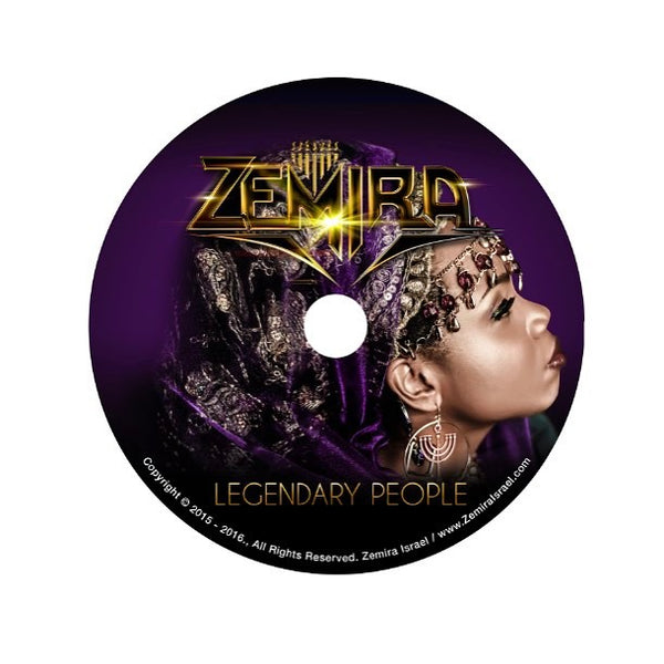 Legendary People HARDCOPY Album (***SOLD OUT***)