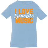 I Love Israelite Music INFANT JERSEY