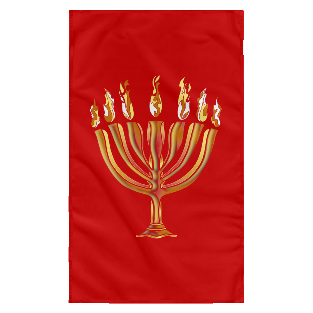 MENORAH Wall Flag