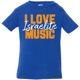 Zemira Israel HIT Music I Love Israelite Music Infant Jersey Shirt