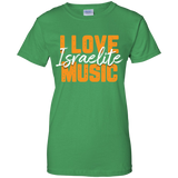 I Love Israelite Music WOMEN Tshirt