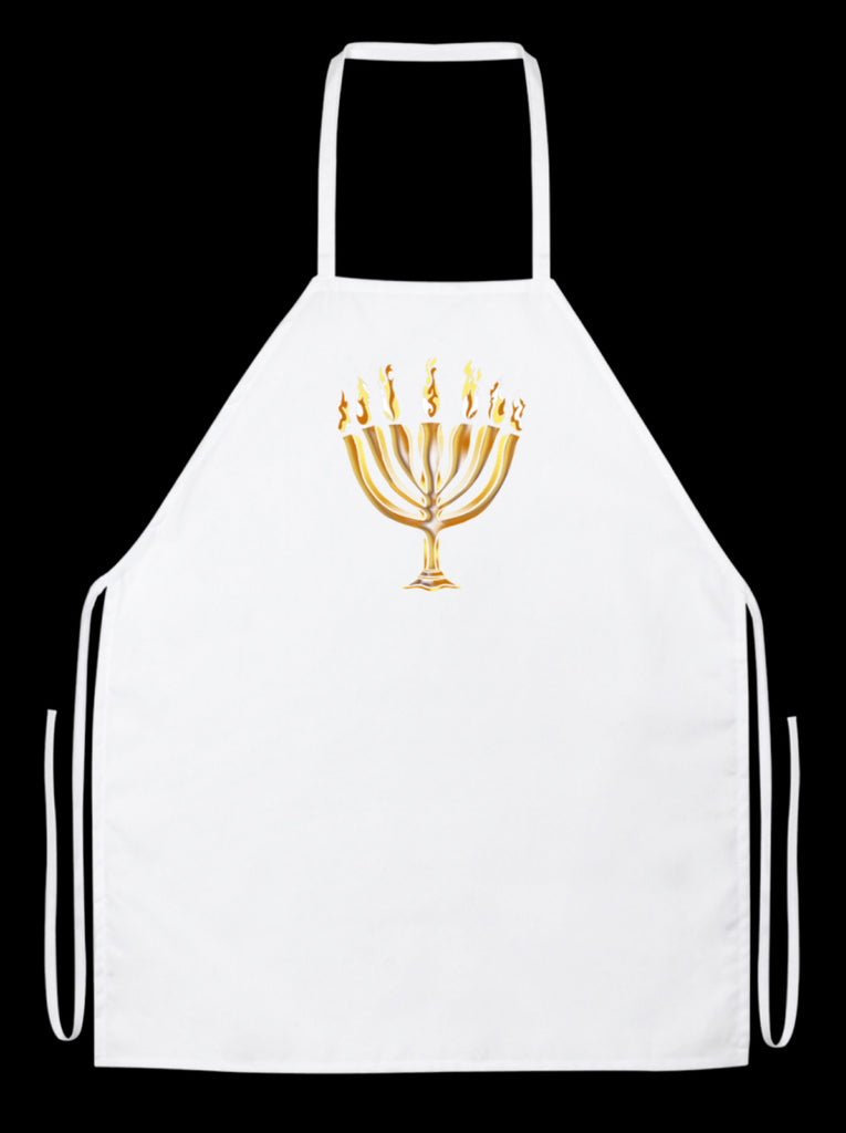 MENORAH White Apron