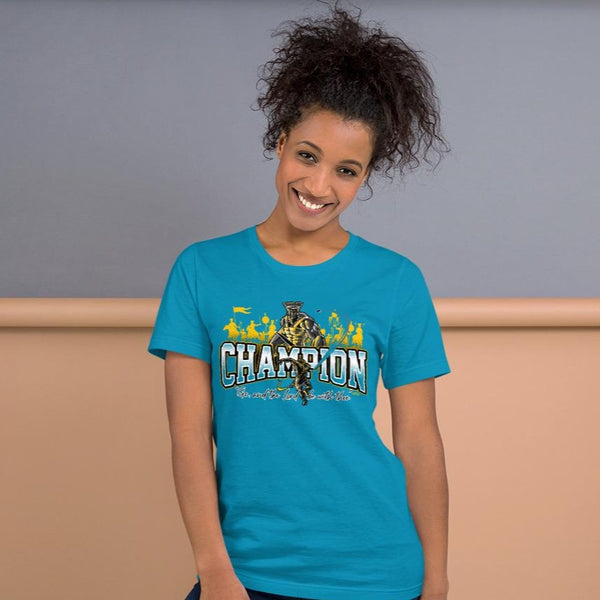 Short-Sleeve Unisex CHAMPION T-Shirt (light colors)