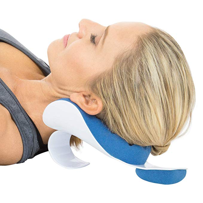 Neck relaxation pillow