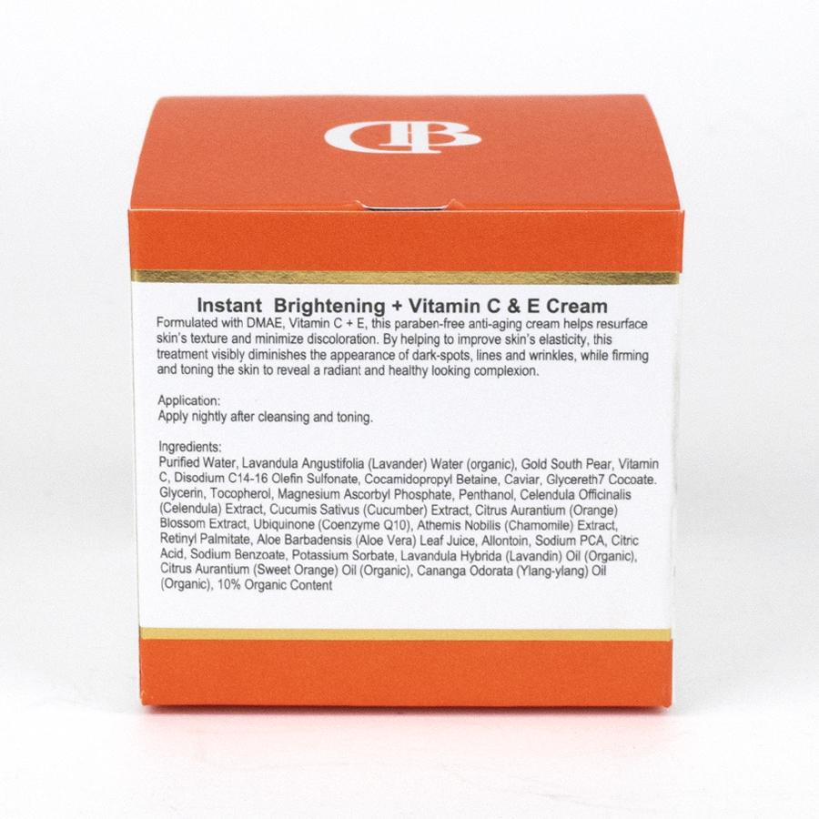 Instant Brightening + Vitamin C,E Cream