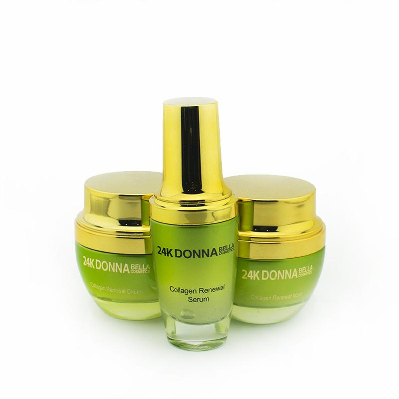 24K GOLD COLLAGEN RENEWAL SET - Donnabella Pro