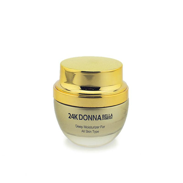 24K DEEP MOISTURIZER FOR ALL SKIN TYPE - Donnabella Pro