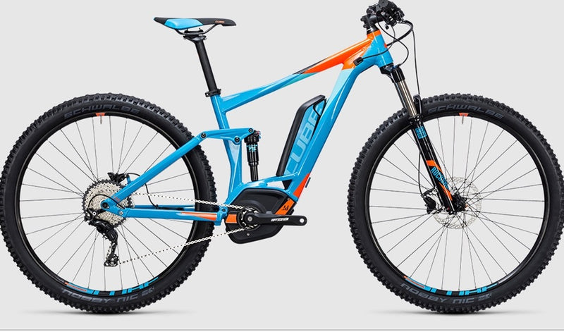 Cube STEREO HYBRID 120 HPA Pro 500 Electric Mountain Bike