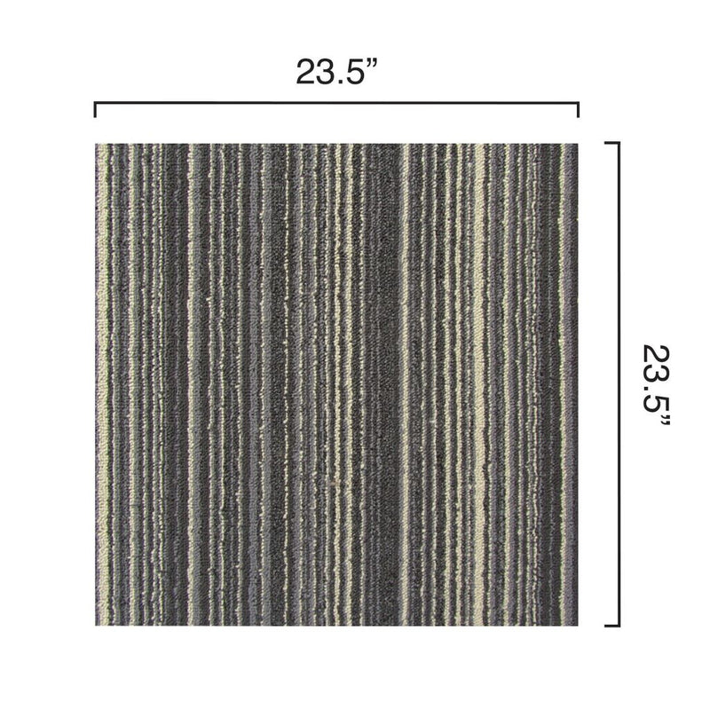 Dimensions of Parallel Stonebrooke carpet tiles