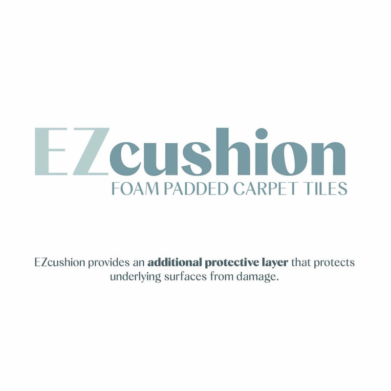 Description of EZ Cushion padded backing