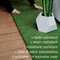 "SPORT TURF Synthetic Grass Tiles | 23.5"" X 23.5"" 