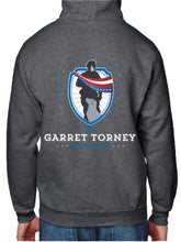 Load image into Gallery viewer, LIMITED EDITION NEW GTF Logo Dk Heather Grey Hoodie