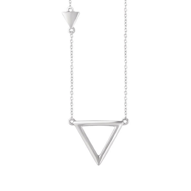 14k Triangle Necklace