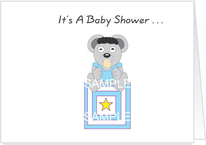 Baby Shower Invitations - Boy