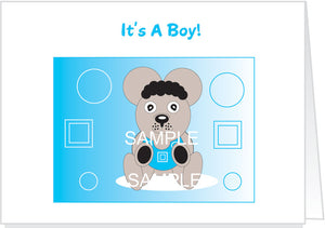 It's A Boy - Invitations