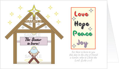 Love, Hope, Peace, and Joy