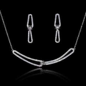 Set de Diamantes 0.95 quilates en Oro 14K