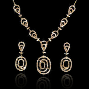 Set de Diamantes 2.90 quilates en Oro 14K