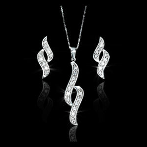 Set de Diamantes 0.26 quilates en Oro 14K