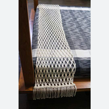 Load image into Gallery viewer, Bed Throw/ Table Runner (Macramé)