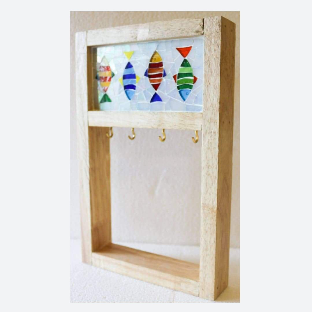 Wall Key Holder - Barish Handcrafted Decor