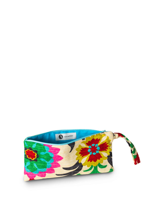 Imaan Floral Pouch
