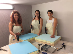 Full day 'upholster a footstool' workshop