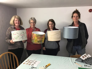 Half day 'make a drum lampshade' workshop