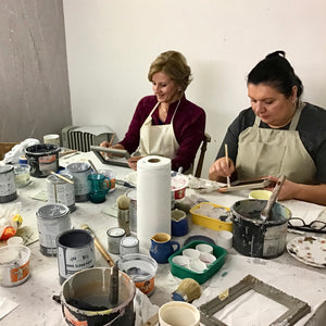 Half day 'extended skills; painting and finishes' workshop